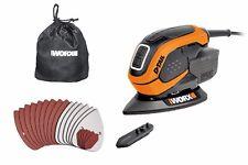 WORX WX648 65W De-Tail Sander with Accessories
