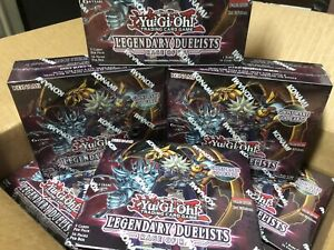 Yugioh! Legendary Duelists Rage of Ra Booster Box (Factory Sealed)