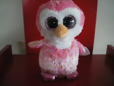 Ty Beanie Boos CHILLZ the penguin 6 inch NWMT. FIVE BELOW VERSION..