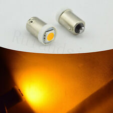 10X T11 BA9S 1445 39431 64111 H6W 5050 SMD 11 LED Car Light Bulb Lamp 12V Yellow