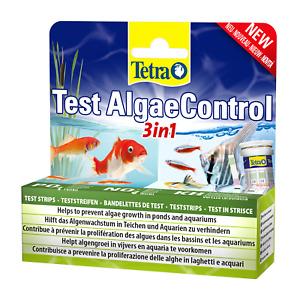 TETRA TEST ALGAE CONTROL 3IN1 POND AQUARIUM NITRATE PHOSPHATE WATER TESTING KIT