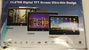 11.6''HD Digital TFT Screen Ultra-Thin Design