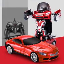 Deformed Car,Transforms into robot BMW red