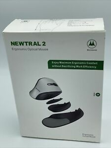 Microtouch Newtral 2 Medium Black Mouse Right Handed Wireless Ergonomic