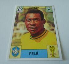 Panini World Cup Story 1970 - 1990 Sticker Pele Brazil #38