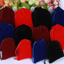 5Pcs/lot Velvet Pouches Jewelry Packaging Display Drawstring Gift Bags Pouc SE