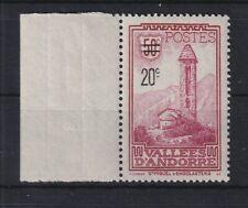 Andorra 1935 Freimarke mit Aufdruck Mi.-Nr. 48 postfrisch **