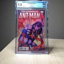 Astonishing Ant-Man #10 CGC 9.8 Variant - Jenny Frison - Psylocke - Marvel 2016