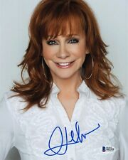 REBA McENTIRE SIGNED AUTOGRAPHED 8x10 PHOTO COUNTRY MUSIC RARE BECKETT BAS