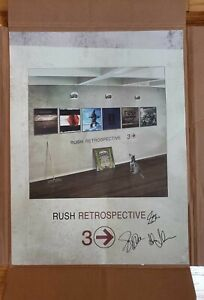 RUSH * Very RARE * Signed Numberd 50/150 * Retrospective 3 Lithography