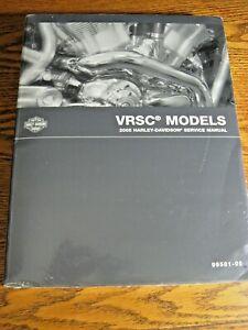 2007 Harley-Davidson VRSC V-Rod SERVICE MANUAL w Wiring Diagrams, New in Wrap!