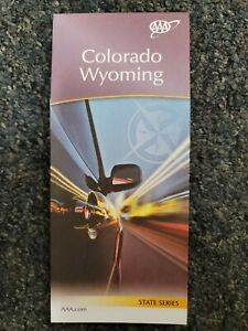 AAA Road Map of Colorado Wyoming
