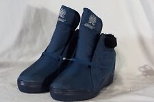 New Women's Khombu Walking Winter Insulated Thermolite Ankle Boots Blue Size 7
