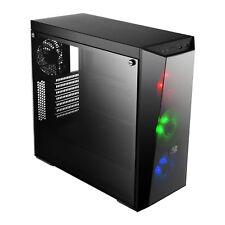 Cooler Master RGB LED MasterBox Lite 5 VETRO TEMPERATO ATX PC GAMING CASE