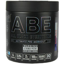 Applied Nutrition All Black Everything ABE 315g Strong Pre-Workout 30 Servings