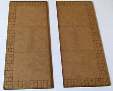 15mm Flames of War (FOW) 3 House Terraced Pavement Bases-01