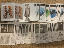 Panini Euro 2008 Stickers - Badges, Foils, Shiny