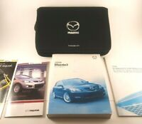 2008 Mazda 3 Owners Manual Kit With Case OEM Great Shape!
