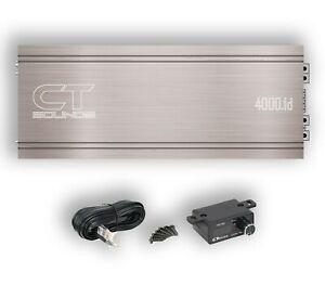 CT Sounds Car Audio Competition Amp Team-4000.1d 4600W TRUE RMS Power Amplifier