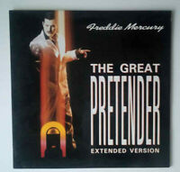 Freddie Mercury THE GREAT PRETENDER MAXI SINGLE LP Vinyl Schallplatte von 1987