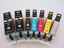7Pk PGI270XL CLI271 XL Inkjet for Canon Pixma MG7720 MG5722 MG6822 MG6821 MG6820