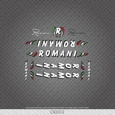 0663 Romani Bicycle Frame Tube Stickers - Decals - Transfers