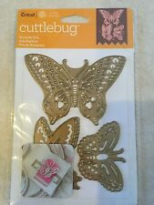 Cricut Cuttlebug Cut & Emboss Die Set - Butterfly Trio, Pk 1 NEW