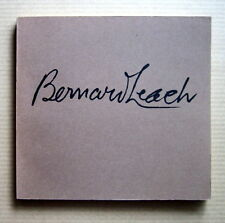 Bernard Leach - Exhibition catalogue  /  1971  Pottery