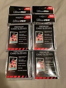 Ultra Pro Premium Card Sleeves Lot of 10 Packs 1000 Sleeves NEW