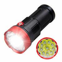 Powerful LED Hunting Lamp 10x XML T6 Torch 3Modes Light Flashlight Camping Torch