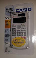 BEAUTIFUL WHITE CASIO FX-85GT PLUS SCIENTIFIC CALCULATOR: UK NO.1 CALCULATOR
