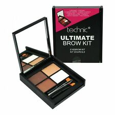 Technic ULTIMATE BROW KIT SOPRACCIGLIA MAKE UP SET, polveri, CERA, PINZETTE & Pennello