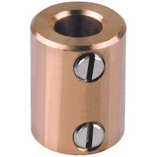 Mentor 720.6 Brass Shaft Coupling - Inside Diameter 6mm Both Ends