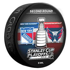 2015 Stanley Cup Playoffs NY Rangers Washington Capitals 2nd Round Dueling Puck