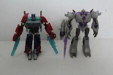 Transformers Prime Cyberverse Optimus Prime Megatron complete RID