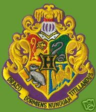 HARRY POTTER HOGWARTS CREST PATCH - HP044