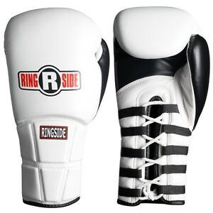 Ringside Pro Boxing Gloves IMF Tech Training Sparring Red Black Blue 8 10 12 oz