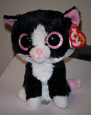 "Ty Beanie Boos ~ PEPPER the 6"" Cat (Glitter/Sparkle Eyes) ~ NEW with MINT TAGS"