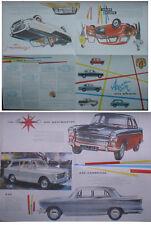 Austin Mini A40 A55 A99 Metropolitan 1959-60 Original UK Sales Brochure No. 1822