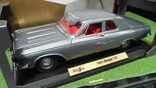 DODGE 330 gris 1963 echelle 1/18 de MAISTO 31652 voiture miniature de collection