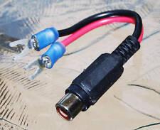 Vintage Yaesu Linear Amp FL-2100, FL-2100B RCA adapter
