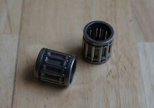 SMALL END BEARINGS X2 FOR SUZUKI GT250  1973-1977