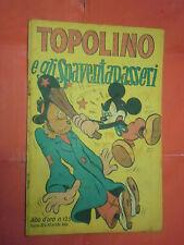 ALBO ORO N° 125-lg-originale 1948-DISNEY MONDADORI-topolino gli spaventapasseri