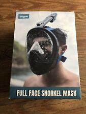 Unigear 180 degree full face snorkel XL Black