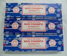 Nag Champa Original Incense Stick 300 gm Wholesale Lot Satya Sai Baba 3 x 100