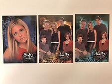 PROMO CARDS: BUFFY THE VAMPIRE SLAYER SEASON 4 Inkworks: 3 DIFFERENT w SD WW2000
