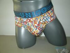 Mundo Unico Microfiber Brief Connection Multicolor (L)