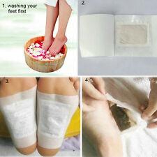 CN 10PCS Kinoki Detox Foot Patches Pads Toxins Feet Slimming Cleansing Herbal