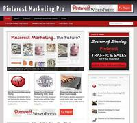 Pinterest Marketing great income Affiliate Web Free Installation + Free Hosting