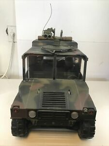 Vintage 1997 21st Century Toys Military Humvee 1/6 Scale *Missing Cannon Gun*